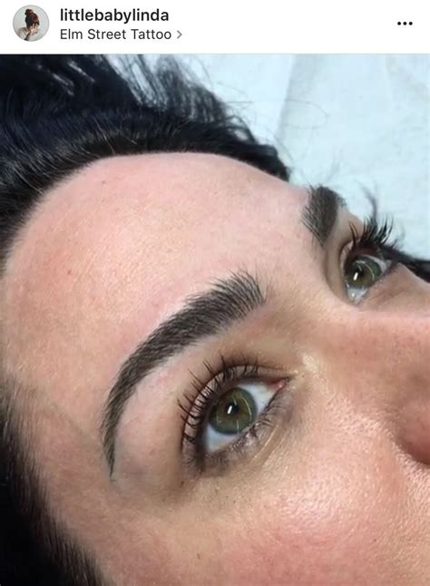 tattoo eyeliner little rock ar microblading by little linda absolutely love my new brows