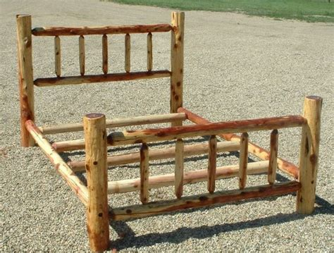 log bed frame best 10 log bed frame ideas on log bed
