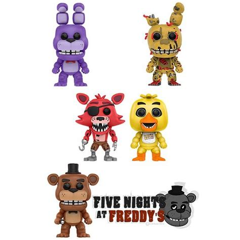 Pop Five Nights At Freddy S 2 figuras funko pop vinyl five nights at freddy 180 s comprar