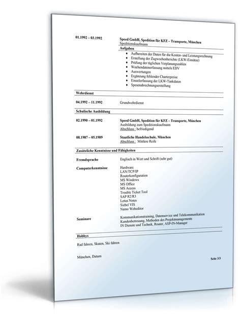 Beispiel Lebenslauf Kaufmannische Angestellte Bewerbungs Mappe Kaufm 228 Nnische Angestellte Muster Zum