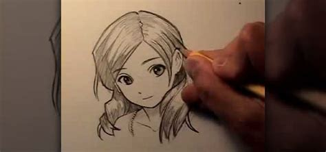 How To Draw Anime Hair Images
