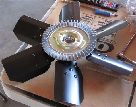 Flipped Clutch fe clutch fan installation hayden 2710 and derale 17118