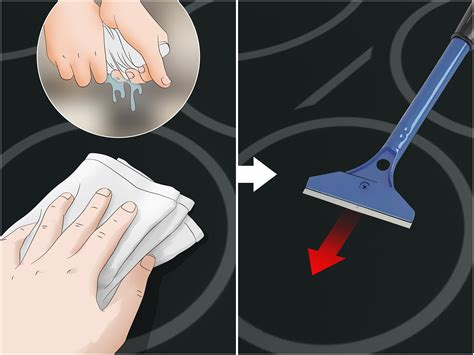 how to clean cooktop ceramic 3 ways to clean a ceramic stove top wikihow