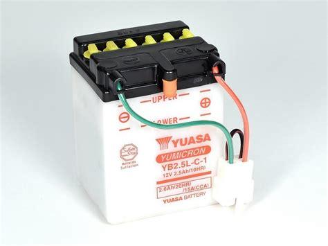 Motorrad Batterie Ladegerät Test by Yb2 5l C 1 Yumicron Motorrad Powersport Batterien