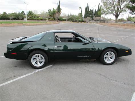 1991 pontiac firebird formula 1991 pontiac firebird formula 350 low rust free