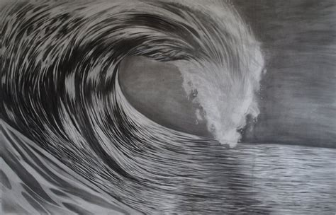 Drawing Waves by Wave Drawing By Emkv On Deviantart