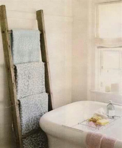 ways to decorate bathroom how to decorate with vintage ladders 20 ways to inspire