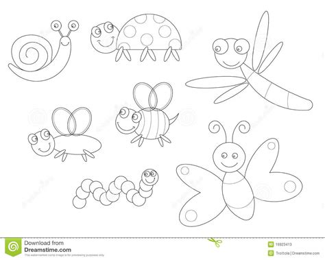 garden insects coloring page garden insects coloring page kids coloring page gallery