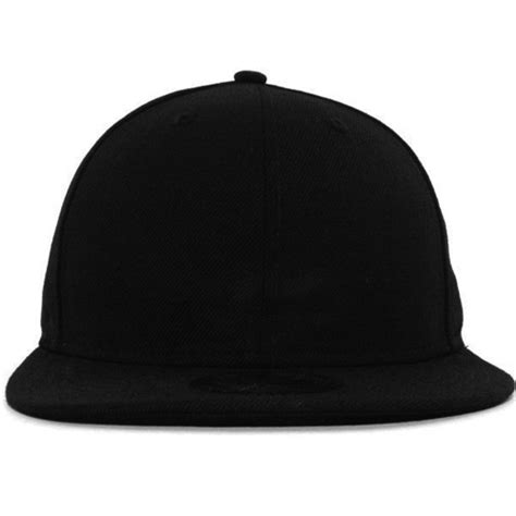 New Era 59fifty Diy Blank Black Baseball Fitted Hat Cap