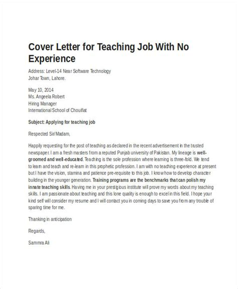 Mba Schools Without Work Experience by 19 Application Letter Templates In Doc Free