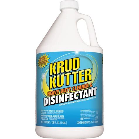 krud kutter 1 gal heavy duty cleaner and disinfectant dh012 the home depot