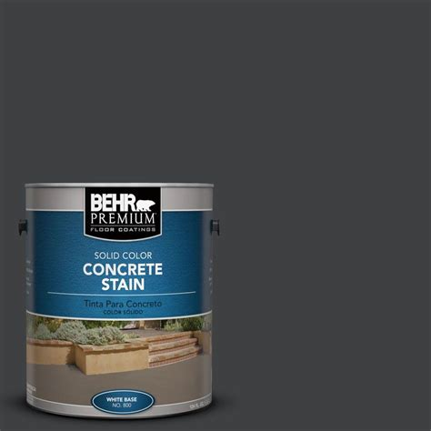 Behr Paint Colors Interior Home Depot Eagle 1 Gal Onyx Concrete Acid Stain Edado The Home Depot