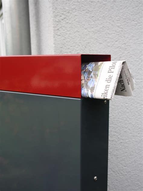 briefkasten stele briefkasten stele 150 x 50 x 12 cm farbe nach ral