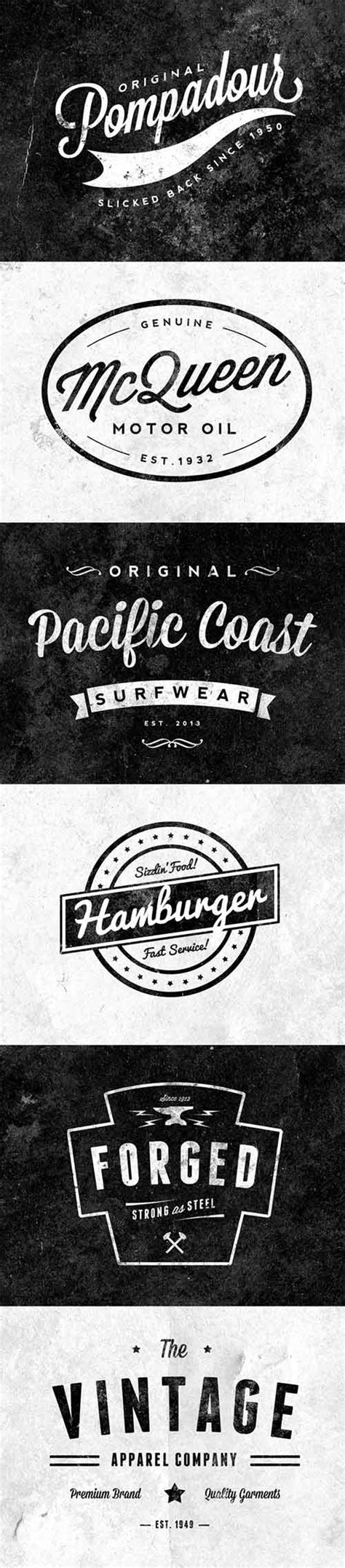design logo retro 20 free inspirational retro logo designs freecreatives