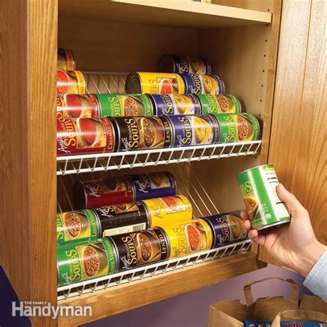 Pantry Organizers For Canned Foods by 17 Canned Food Storage Ideas To Organize Your Pantry
