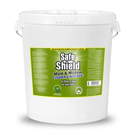 safe shield non toxic mold prevention product 5 gallon
