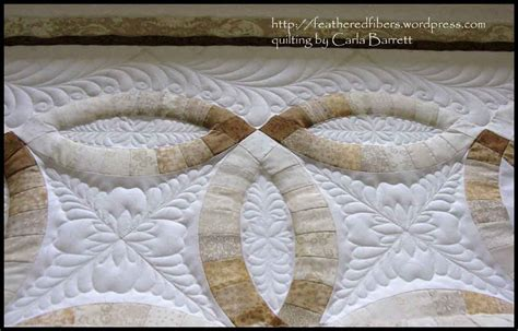 Wedding ring quilt   Carla Barrett