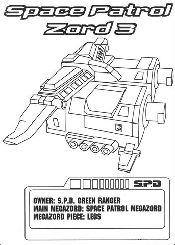 lion zord coloring pages space patrol zord 3 coloring page super coloring