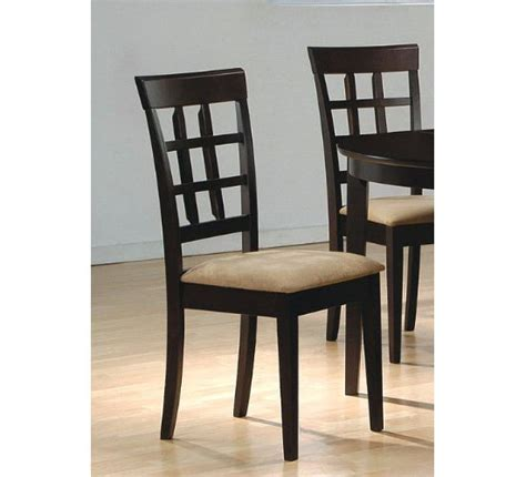 contemporary dining room chairs add style to your dining room using coaster contemporary