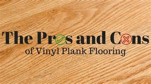 Vinyl Plank Flooring Pros And Cons Pros And Cons Of Vinyl Plank Floors