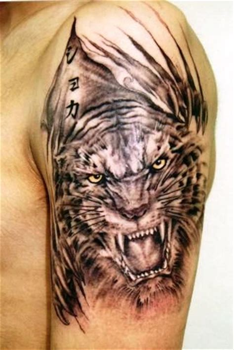 chinese zodiac tiger tattoo designs design tiger