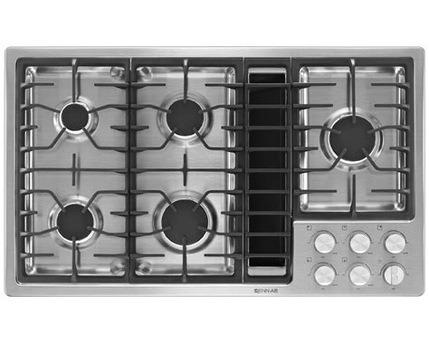 36 Inch Stainless Steel Downdraft Gas Cooktop jenn air jgd3536bs 36 quot jx3 downdraft gas cooktop stainless steel