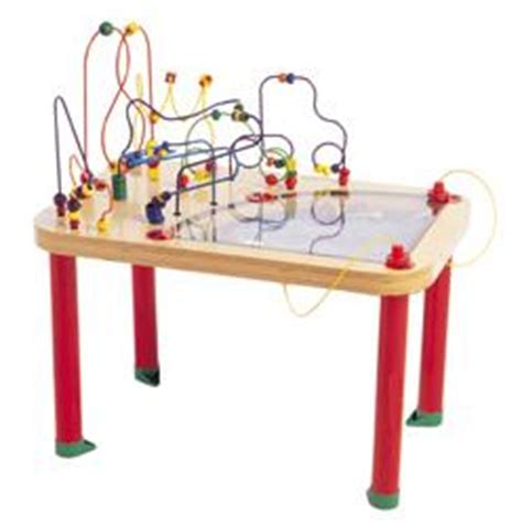 activity tables circle of fun magnetic bead maze table