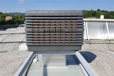 cost to install evaporative cooler on roof coolair evaporative cooler from powrmatic