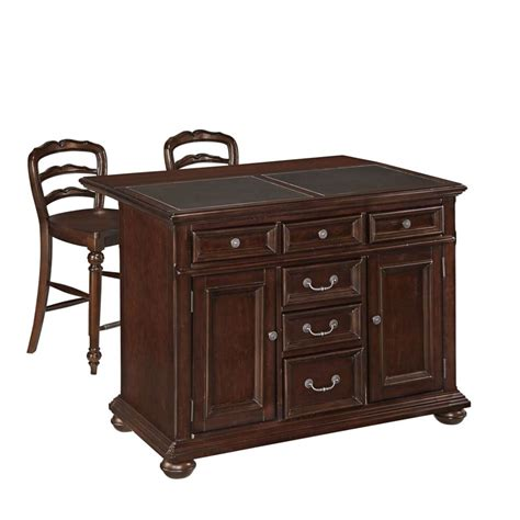 homedepot kitchen island home styles colonial classic kitchen island w granite top