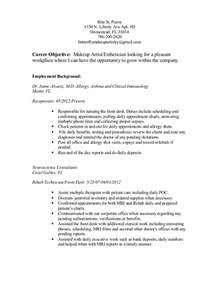 Resume Job To Present by Resume Present Tense Resume Template 2017