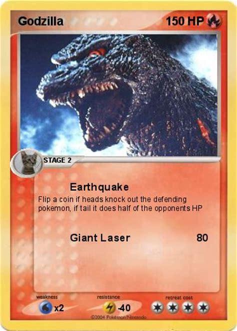 earthquake pokemon pok 233 mon godzilla 35 35 earthquake my pokemon card