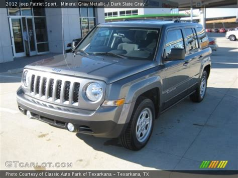 gray jeep patriot mineral gray metallic 2012 jeep patriot sport