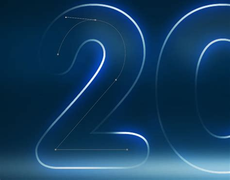 tutorial photoshop cs5 neon light beams how to create neon illustration happy new year 2012 in
