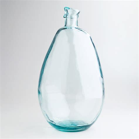 18 inch clear barcelona vase vases by