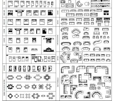 furniture templates for floor plans autocad cad blocks free download free cad blocks architectur