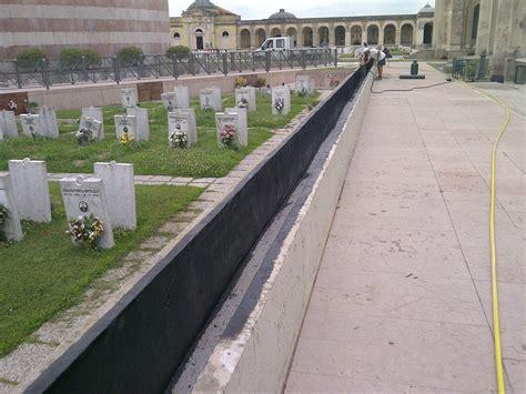 impermeabilizzazione fioriere opere cimiteriali i c e a m srl