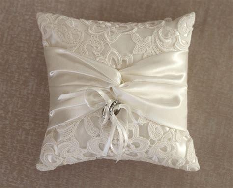 Handmade Ring Bearer Pillow - ring bearer pillow decorative buzzardfilm custom