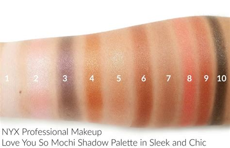 Nyx You So Mochi nyx professional makeup you so mochi collection
