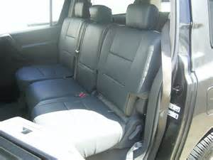 Nissan Armada Seat Covers Nissan Armada 2004 2010 Leather Like Custom Seat Cover Ebay