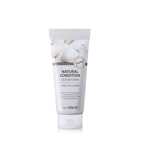 White Pore Cleanser 150ml the saem condition scrub foam pore cleansing 150ml ebay