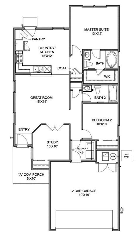home layout plan 17 best images about centex floor plans on pinterest