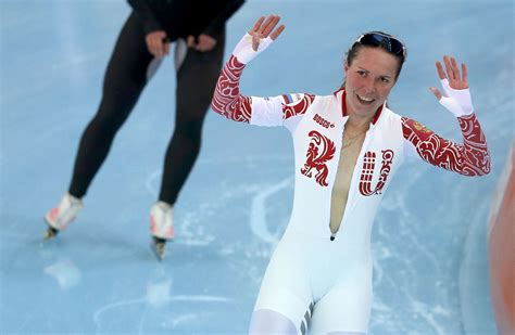 Wardrobe Skating by Olga Graf Of Russia Waves After Women S 3000 Meters
