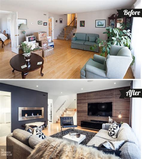 Home Design Before And After by How To Boost Your Home S D 233 Cor With A Living Room Makeover