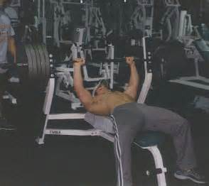 bench press shoulder blades the perfect bench press routine