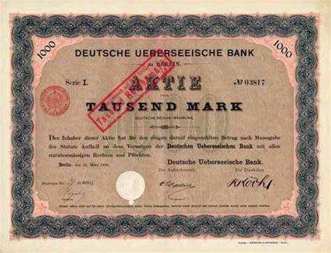 deutsche bank deutz deutsche ueberseeische bank