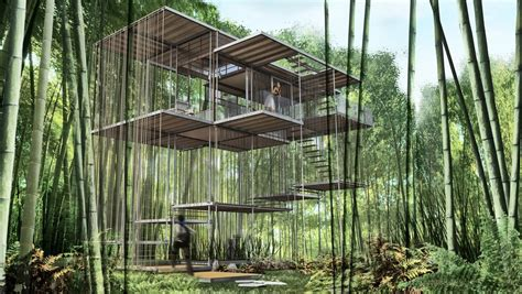 Landscape Structures Treehouse Triumph Architectural Treehouse Award 2014 3 E Architect