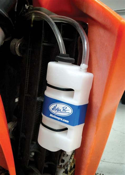 Ktm Coolant Recovery Tank Coolant Recovery Tank By Motion Pro Slavens Racing