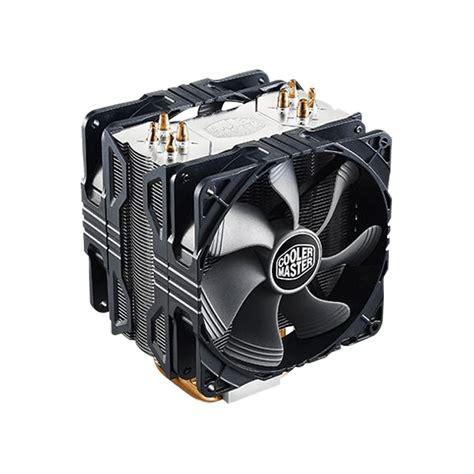 dual 120mm fan cooler master hyper 212x w dual 120mm pwm fan cpu cooler