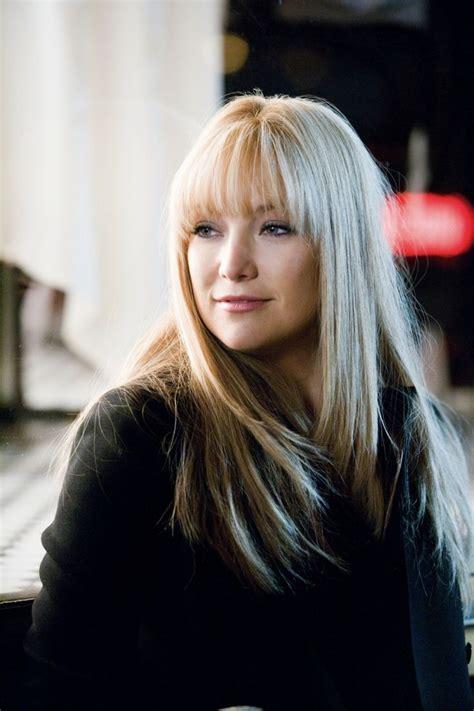 hairstyles blonde fringe kate hudson en bride wars film pinterest women wear