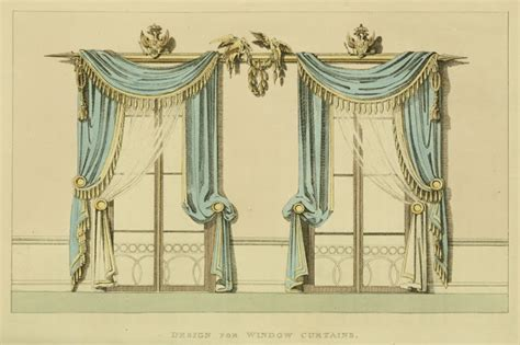 curtains drawn ekduncan my fanciful muse regency era curtains